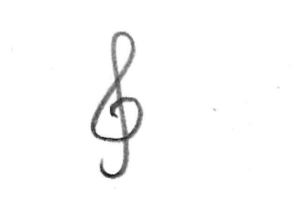山里佐和子ト音記号1